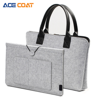 ACECOAT Laptop Briefcase With Liner Sleeve Macbook Air Pro Casual Business Portable Bag Suitable For Under