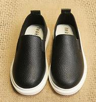 Children S Leisure Shoes Spring Autumn Baby Boys Wedding Fashion Kids Party Single Leather Flat Shoes
