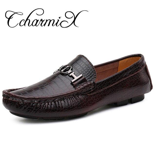 hommes occasionnels chaussures en cuir véritabl... T3TCd