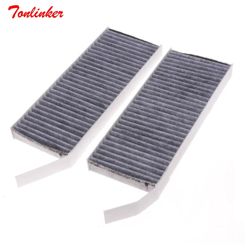 Tonlinker Car Cabin Air Filter Fit For Renault LATITUDE L70 2.0L 2.5L Lagunna 2.0T Model 2010 2017 2018 Filter Core 272774653R-in Cabin Filter from Automobiles & Motorcycles