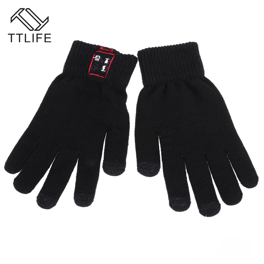 купить TTLIFE Smart  Bluetooth Glove Wireless Touch Screen Talking Magic Gloves Bluetooth Headphone With Mic For phone 6/plus samsung дешево