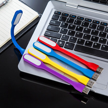 Flexible LED touch USB light super bright 6LED portable mini laptop eye protection reading lamp
