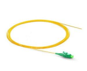 Image 3 - 1m 50pcs SC APC fiber Pigtail LC APC pigtail cable G657A Simplex  9/125 Single Mode Fiber Optic Pigtail   0.9mm 2.0mm PVC Jacket