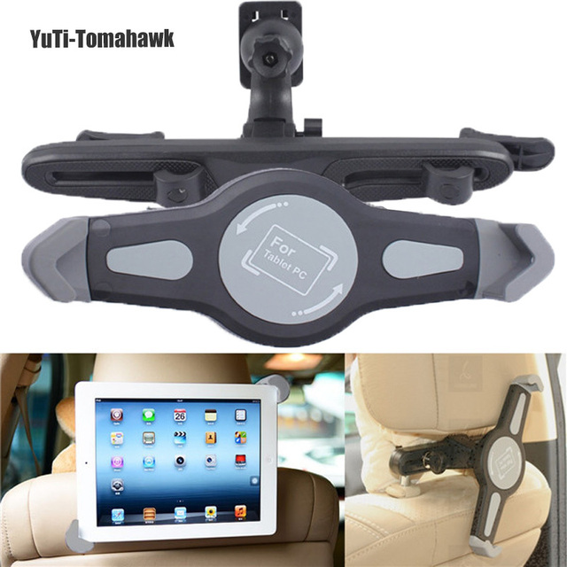 Universal Car Back Seat encosto de cabeça montar titular para 7 - 10 polegada Tablet para SAMSUNG para iPad 2 / 3 / 4 ar 2 Tablet pc suporte