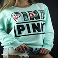 Hot 2017 spring new Designed PINK printing long-sleeved VS women's fashion Casual Hoodies American Apparel sudaderas Mujer