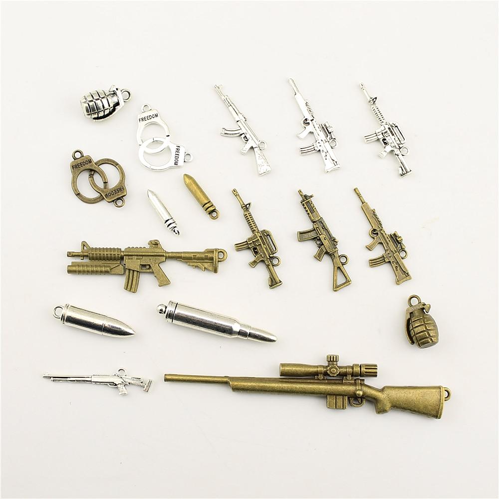 Jewelry Female Weapon Sniper Machine Gun Bullet Diy Accessories