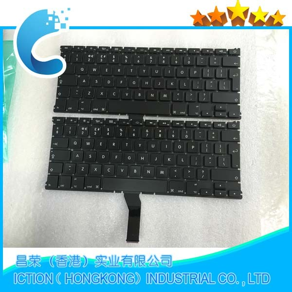 10pcs/lot Brand New UK Keyboard For Macbook Air 13 A1466 A1369 UK Laptop keyboard MD231 MD232 MC503 MC504 2011-2015 Years new topcase with tr turkish turkey keyboard for macbook air 11 6 a1465 2013 2015 years