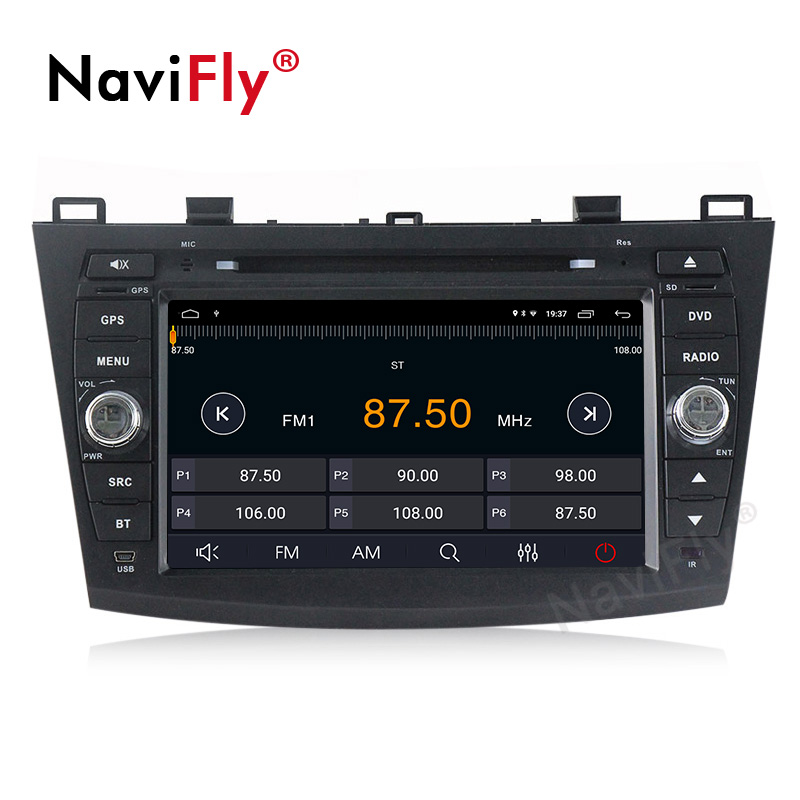 Sale Android 9.1 Car Radio Multimedia for Mazda 3 Mazda 3 maxx Axela 2010-2013 2din car dvd gps navigation player headunit 4