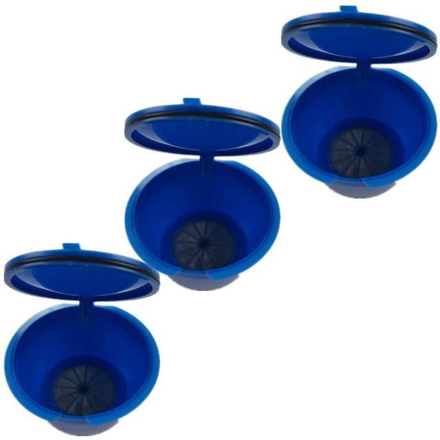 3 Pcs Blue Filter Basket