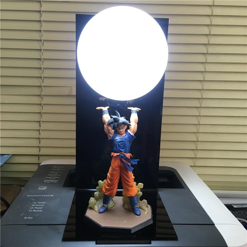 Anime Dragon Ball Z Figures Son Goku Genki damaSpirit Bomb dragonball figure DIY Display Model Toy Esferas Dragon+Ball+Base