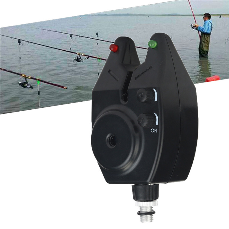 C3 Fishing Alarm High Sensitivity Led Fish Bite Electronic Alarm Bell for Fishing Throwing Rod Lightweight And Water Resistant fishing rod stainless steel alarm bell silver green