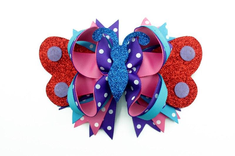 Nový design Vlasové doplňky s motýlkem ve tvaru motýla