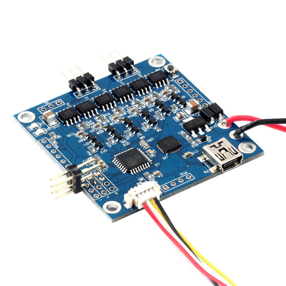 Высокое качество КУП MOS 3.0 большой ток Бесщеточный Gimbal плате контроллера драйвер AlexMos простой КУП