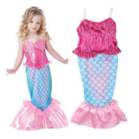 2a5c68fd8f7d1 Small And Medium Children S Mermaid Swimsuit 3 8 Years Old Girl Baby One Piece  Bathing