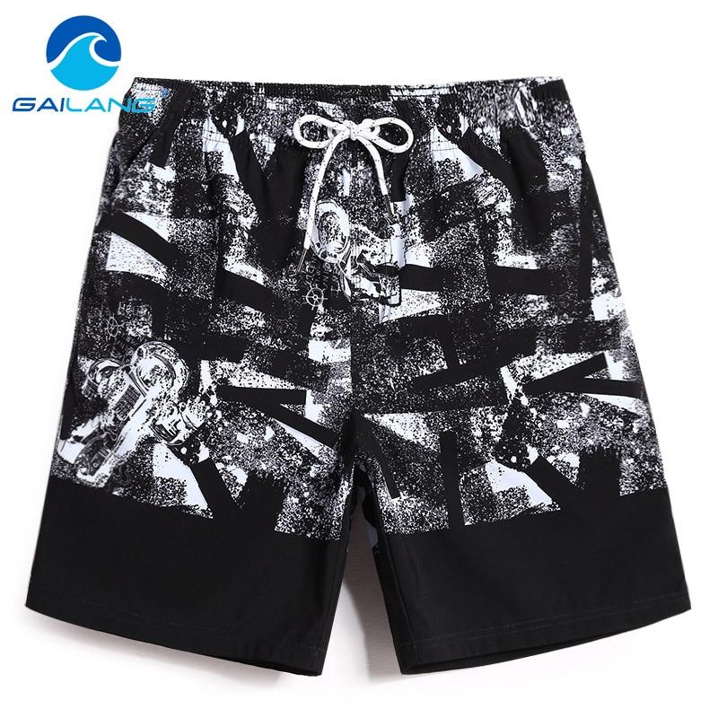 Gailang Brand Men Beach Shorts Board Boxer Trunks Short Bottoms Swimwear Swimsuits Quick Drying Men Boardshorts Big Plus Size Men's Clothing