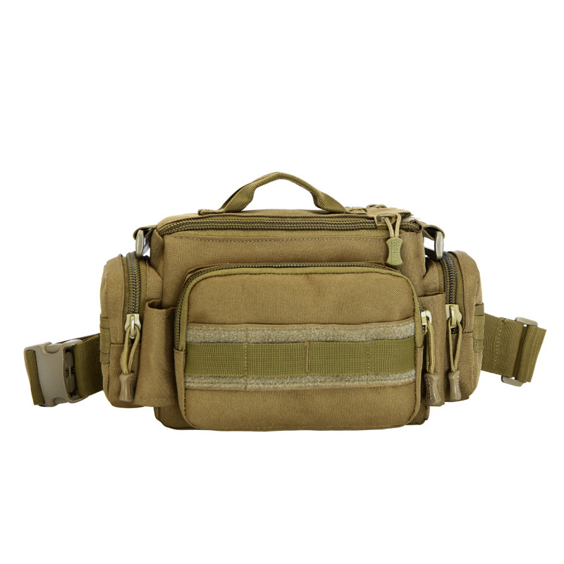 Military enthusiasts nylon waterproof waist bag mens and womens chest bag 3 p SLR camera travel Mens bags Free shipping