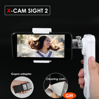 X Cam Sight 2 Axis Smartphone Handheld Brushless Gimbal Video Stabilizer Mobile stabilizing Steadycam for iPhone Samsung Phone