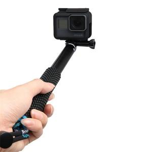 Image 4 - ללכת פרו 7 8 חדרגל פאלו Selfie מקל חצובה לgopro Hero 7 6 5 כף יד Selfies פאו דה עצמי לxiaomi יי Eken Sjcam Dji אוסמו