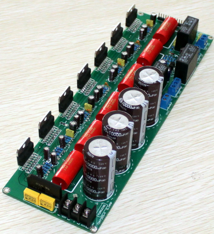 TDA7293 5.1-Channel High-Power Amplifier Board After The Pure Board lm3886tf dual channel speaker protection integrated fever power amplifier board after the pure level 2 power amplifier finished