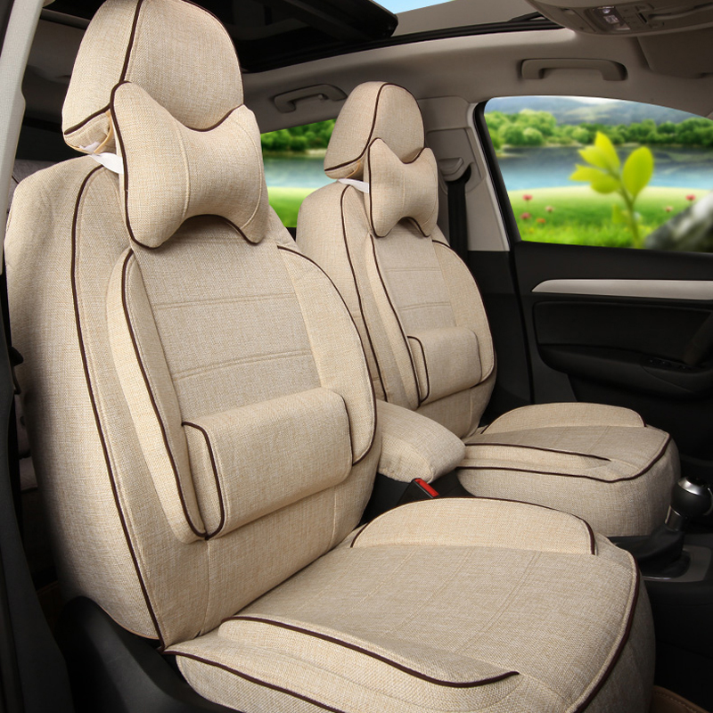 Automobiles Seat Covers for Renault Latitude Child Car Seat Cover Sets Custom Cover Seats Cushion Lumbar Support Linen Protector