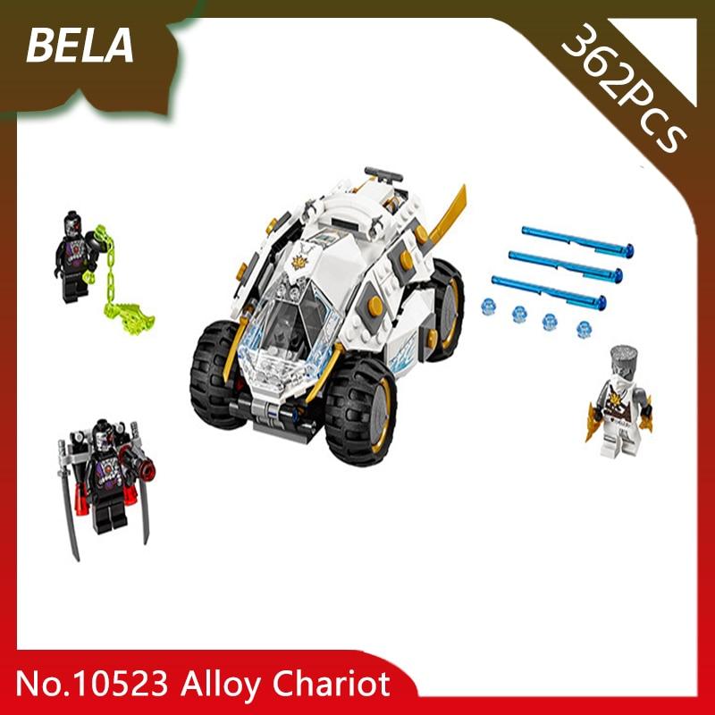 Bela 10523 362pcs Ninja Series The Alloy Chariot Model Building Blocks Set Bricks Favourite Toys For Kids Christmas Gifts 70588