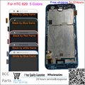 Original guarantee For HTC Desire 620 620G Touch screen + LCD display with frame&LOGO best quality tested ok!