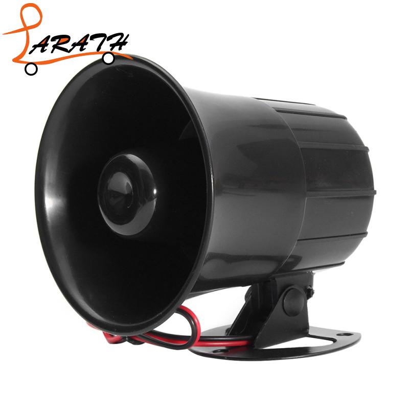 LARATH 6-12 V 15W Electric Car Truck Alarm Loud Speaker Auto Sound New Universal Car Motor Motorcycles Speaker Louder QFD2119