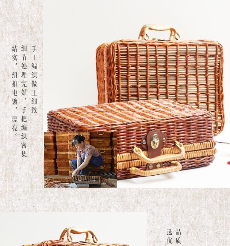 18 Summer Beach Bamboo Bag Straw Women Handbag Handmade Woven Bag Luxury Designer Tote Travel Clutch Lunch Bags snx008 30 OFF 9