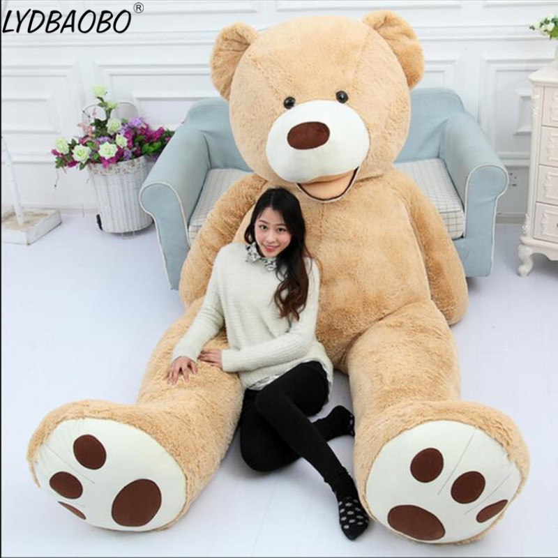 1-2M USA Giant Bear Skin Unfill Teddy Bear Hull Super Quality Wholesale Price Child Baby Birthday&Valentine's Gift Dorpshipping
