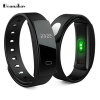BOUNABAY Smart Sport Bracelet Watch For Women Original Ladies Clock Lady Bluetooth Waterproof Android Ios Phone