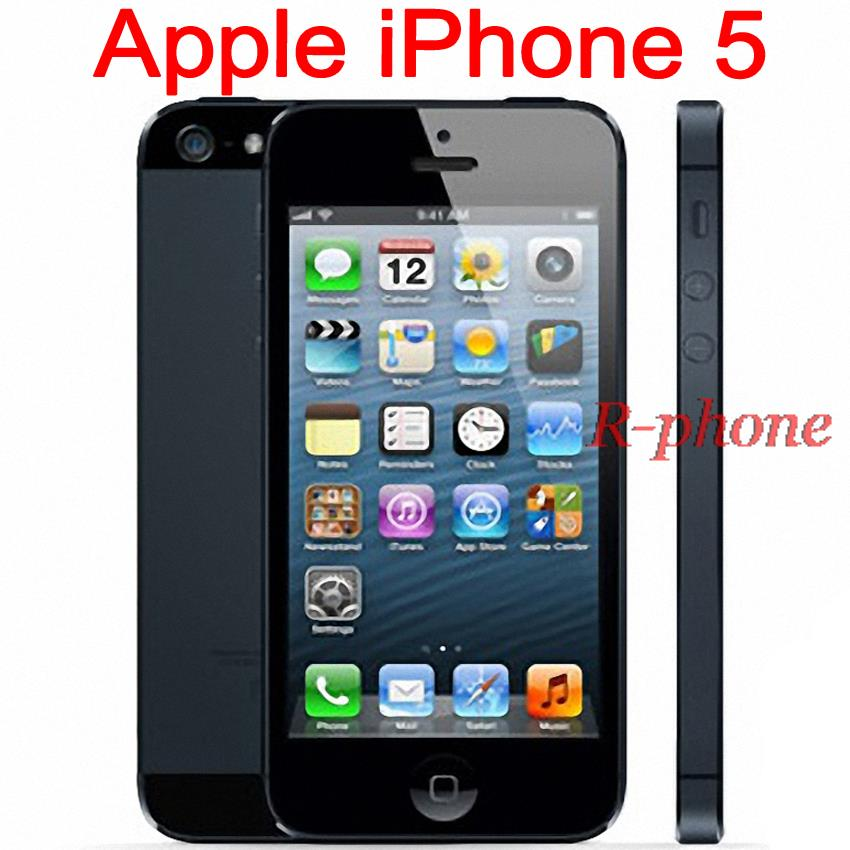iphone 5 16gb unlocked unlocked original apple iphone 5 rom 16gb 32gb 64gb 14463
