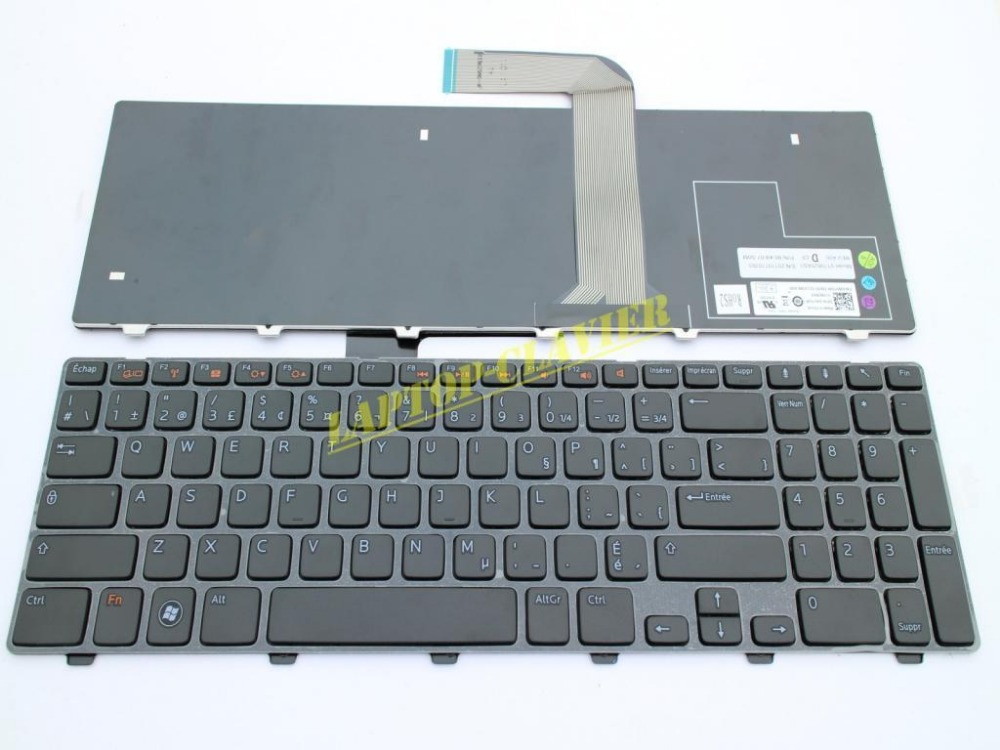 New notebook Laptop keyboard for Dell Inspiron N5110 M5110 M511R Q15R-N5110 french/fr  layout new notebook laptop keyboard for dell inspiron mini 1012 1018 08000y french layout