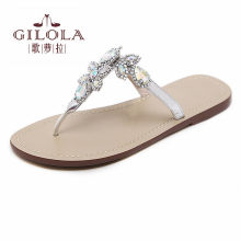 46eb4188fb7b2 women sandals rhinestone sexy gladiator ladies flat sandals crystal women  summer shoes woman slip on best