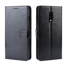 For Oneplus 7 pro PU Leather wallet case with Kickstand & Credit Slots For Oneplus 6T 6