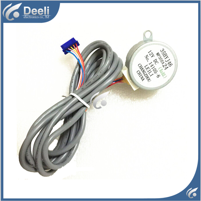 2pcs/lot 98% new good working for Air conditioner Stepper Motor step MP35EA24 = 35BYJ46 12v 5 Wire Stepper Motor