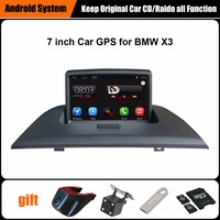 7 Inch Touch Screen Car GPS For BMW X3