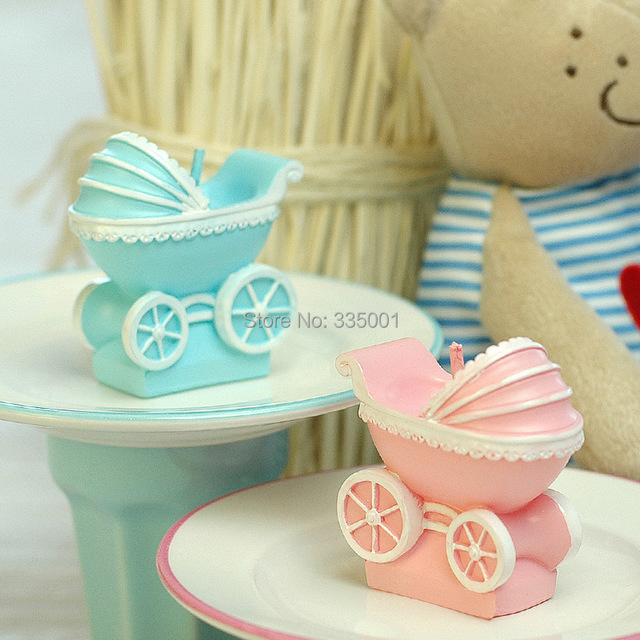 Baby Shower Candle Favor  Baby Stroller Candles Childrenu0027s Day Party  Souvenir Gift Wedding Favors