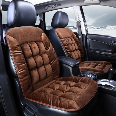 1pcs Automobiles Seat Cover Thickened Short Soft Plush Seat Cushion Cover Universal Autumn Winter Car Seat Mat Protector in Automobiles Seat Covers from Automobiles Motorcycles
