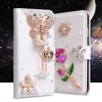 For LG K8 Case Luxury Rhinestone Cases For LG K8 K350N PHOENIX 2 K371 Escape 3