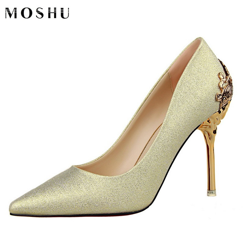 Champagne color dresses pumps for fountains