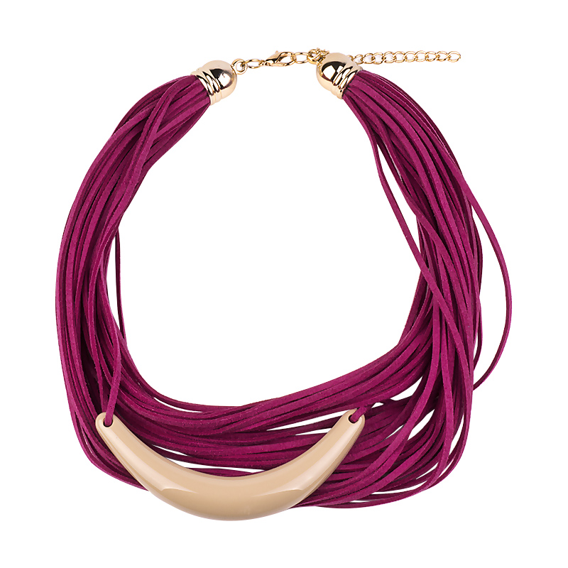 GuanLong Multi Layer Wrap Ribbon Choker Necklaces For Women 2018 Winner Clothing Accessories Jewelry image