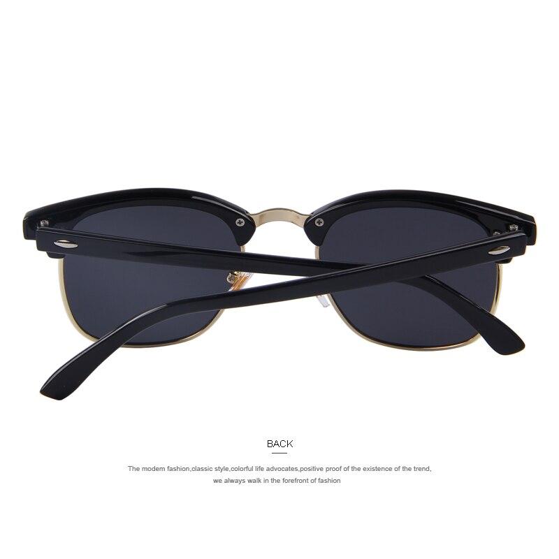 MERRY S Homens Retro Rebite Óculos Polarizados Clássico Marca Designer  Unisex Polaroid Óculos De Sol UV400 em Óculos de sol de Acessórios de  vestuário no ... 4120b7a835