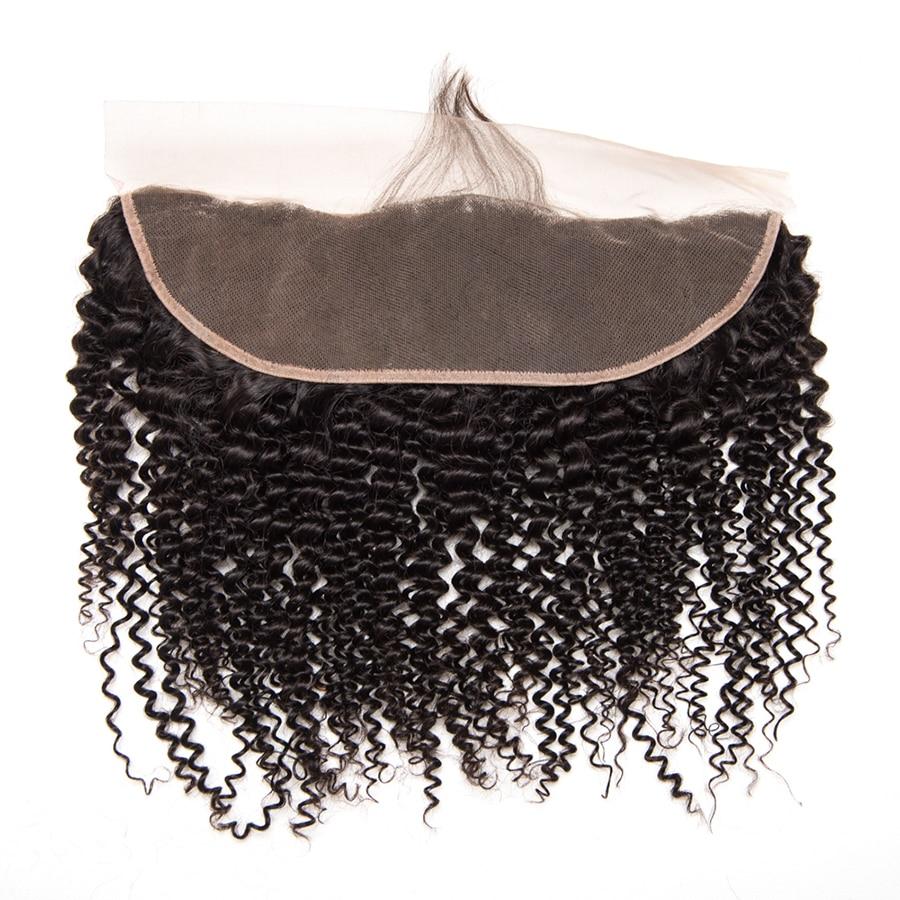 Հրաշք աղջիկ բրազիլական կինկի գանգուր - Մարդու մազերը (սև) - Լուսանկար 2