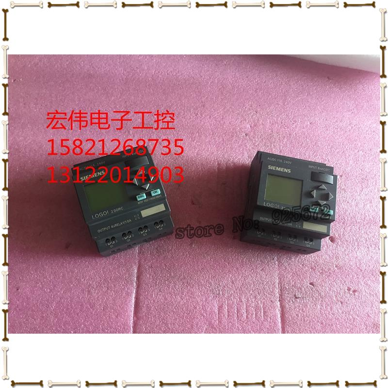 9 into new! PLC LOGO 6 ed1 fb00 052-1-0 ba6 quality guarantee!9 into new! PLC LOGO 6 ed1 fb00 052-1-0 ba6 quality guarantee!