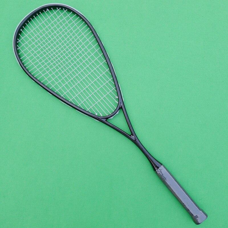 цена на 1 PC 100% carbon-fiber Squash racket,Black GRAPHITE 500 squash racquet 145g