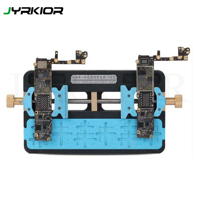 Jyrkior Universal Fixture High Temperature Phone IC Chip BGA Chip Motherboard Jig Board Holder Repair Tools For iPhone Tablet leaf village naruto headband