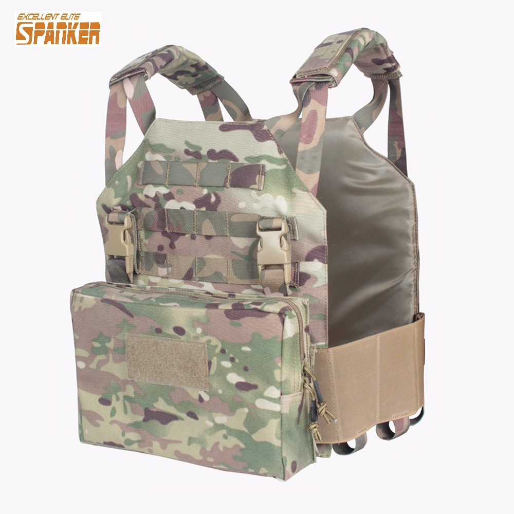 Tactical Modular Vest  with Module Sundries Bag Military Training Combat Camouflage Vest Hunting Paintball Equipment vikki nikki футболка кошкины эмоции