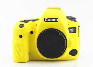 Image 4 - Silicone Armor Skin Case Body Cover Protector for Canon EOS 6D Mark II 2 6DM2 6D2 DSLR Camera ONLY