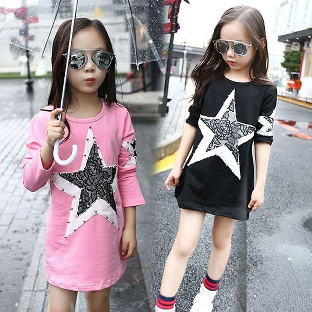 fa2c04d9f 2019 الربيع الفتيات بلوزة طويلة الأكمام قمصان للبنات الملابس ملابس الأطفال  القطن الطفل قميص الاطفال الملابس