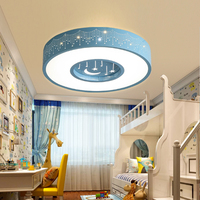 T New Lovely Sweety Circular Creative Ceiling Light For Children S Room Colorful Lamps Bedroom Home